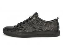 Ботинки Philipp Plein (Филипп Плейн) Low Star Black
