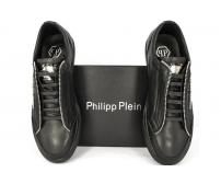 Осенние ботинки Philipp Plein (Филипп Плейн) Shadow Edition Black