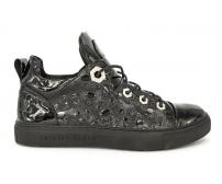 Ботинки Philipp Plein (Филипп Плейн) Skull Edition Black Gloss