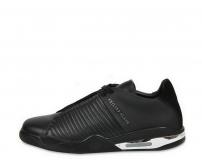 Кроссовки мужские Philipp Plein (Филипп Плейн) Sport кожаные Black