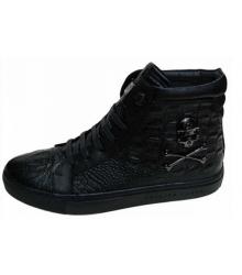 Мужские ботинки Philipp Plein (Филипп Плейн) высокие Black