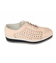 Женские ботинки Prada (Прада) Beige