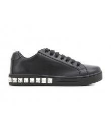Женские кроссовки Prada (Прада) Black