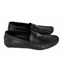 Мокасины мужские Prada (Прада) Black