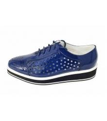 Ботинки летние Prada (Прада) Blue