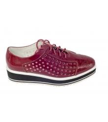 Ботинки Prada (Прада) Bordo