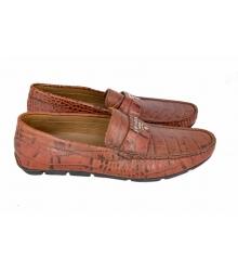 Мокасины мужские Prada (Прада) Brown
