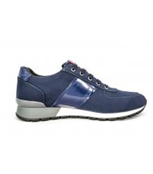 Кроссовки мужские Prada (Прада) New Blue