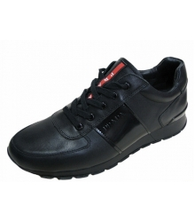 Кроссовки мужские Prada (Прада) New Black