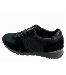 Мужские кроссовки Prada (Прада) New Black