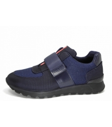 Кроссовки мужские Prada (Прада) New Blue/Black