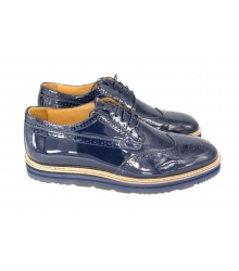 Туфли Prada (Прада) Oxford Blue