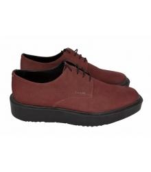 Ботинки мужские Prada (Прада) Oxford Red