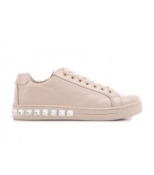 Женские кроссовки Prada (Прада) Pink