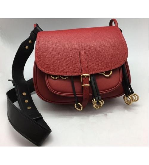Женская сумка Prada (Прада) Red