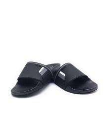 Шлепанцы мужские Prada (Прада) резиновые Black