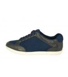 Кроссовки мужские Prada (Прада) с перфорацией Blue