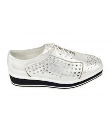 Ботинки женские Prada (Прада) Silver