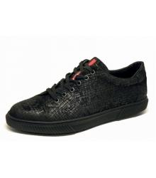 Мужские кроссовки Prada (Прада) Sport New Black