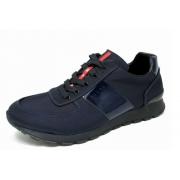 Мужские кроссовки Prada (Прада) Sport New Blue
