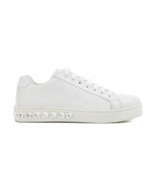 Женские кроссовки Prada (Прада) White