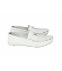 Мокасины мужские Prada (Прада) White