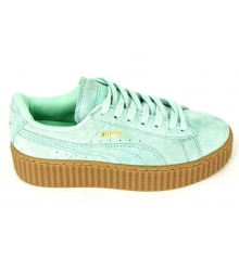 Кроссовки женские Puma (Пума) Creeper by Rihanna Light Green