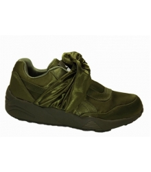 Кроссовки Rihanna X Puma (Пума) Fenty Bow Trinomic Dark Green