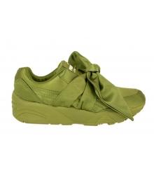 Кроссовки женские Puma (Пума) Rihanna X Fenty Bow Green