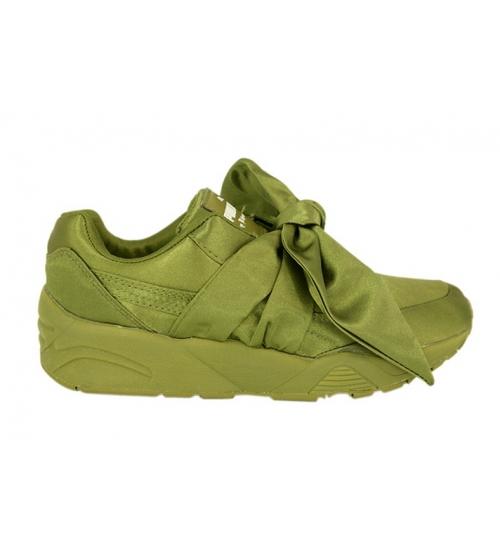 Кроссовки женские Puma (Пума) Rihanna X Fenty Bow Green - 5 950 руб ... 3257d911f0f