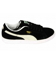 Кроссовки мужские Puma Suede(Пума Сьюды) Black\White