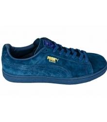 Кроссовки мужские Puma Suede (Пума Сьюды) Blue