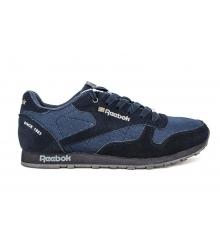 Кроссовки Reebok Classic Black\Blue