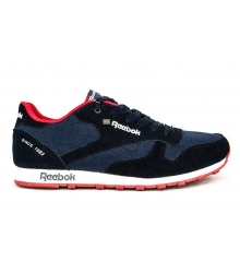 Кроссовки Reebok Classic Black\Blue\Red