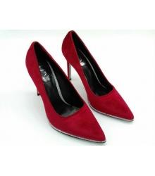 Туфли женские Rene Caovilla (Фернандо Рене Каовилла) замшевые Red