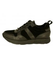 Кроссовки мужские Richmond (Ричмонд) брендовые замшевые Black