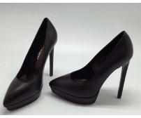Женские туфли Saint Laurent (Сен-Лоран) Black