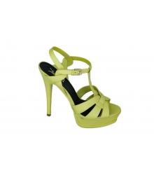 Босоножки женские Yves Saint Laurent (Ив Сен Лоран) Green
