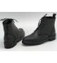 Ботинки женские Yves Saint Laurent (Ив Сен Лоран) кожаные Black