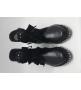 Ботинки женские Yves Saint Laurent (Ив Сен Лоран) с заклепками Black