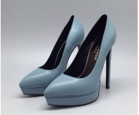 Туфли женские Yves Saint Laurent (Ив Сен Лоран) Blue