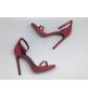 Женские босоножки Yves Saint Laurent (Ив Сен Лоран) Red