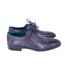 Мужские туфли Santoni (Сантони) Dark Blue