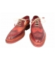 Мужские Туфли Santoni (Сантони) Oxford Brown