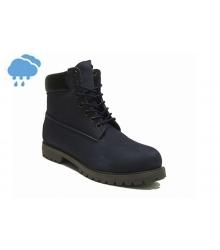 Ботинки осенние Timberland (Тимберленды) Classic Dark Blue