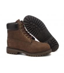 Ботинки осенние Timberland (Тимберленды) Classic Dark Brown