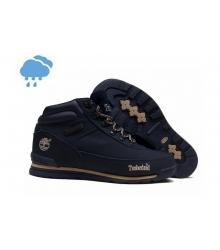 Осенние ботинки Timberland (Тимберленды) NM Field Boot Dark Blue