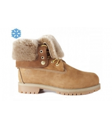 Зимние ботинки Timberland Teddy Albina Rust Brown
