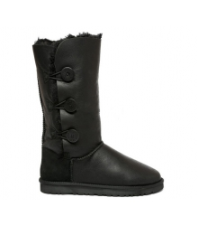 Ugg Australia (Угги Австралия) Bailey Button Triplet Metallic Black