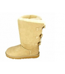 Ugg Australia (Угги Австралия) Satin Bow Bailey Beige
